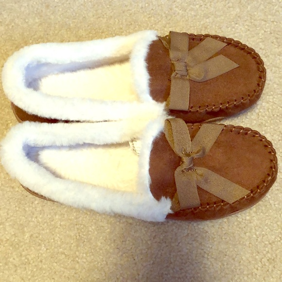 Sonoma Shoes - Women's Fur Lined Slippers Sonoma NEW Sz L 9-10